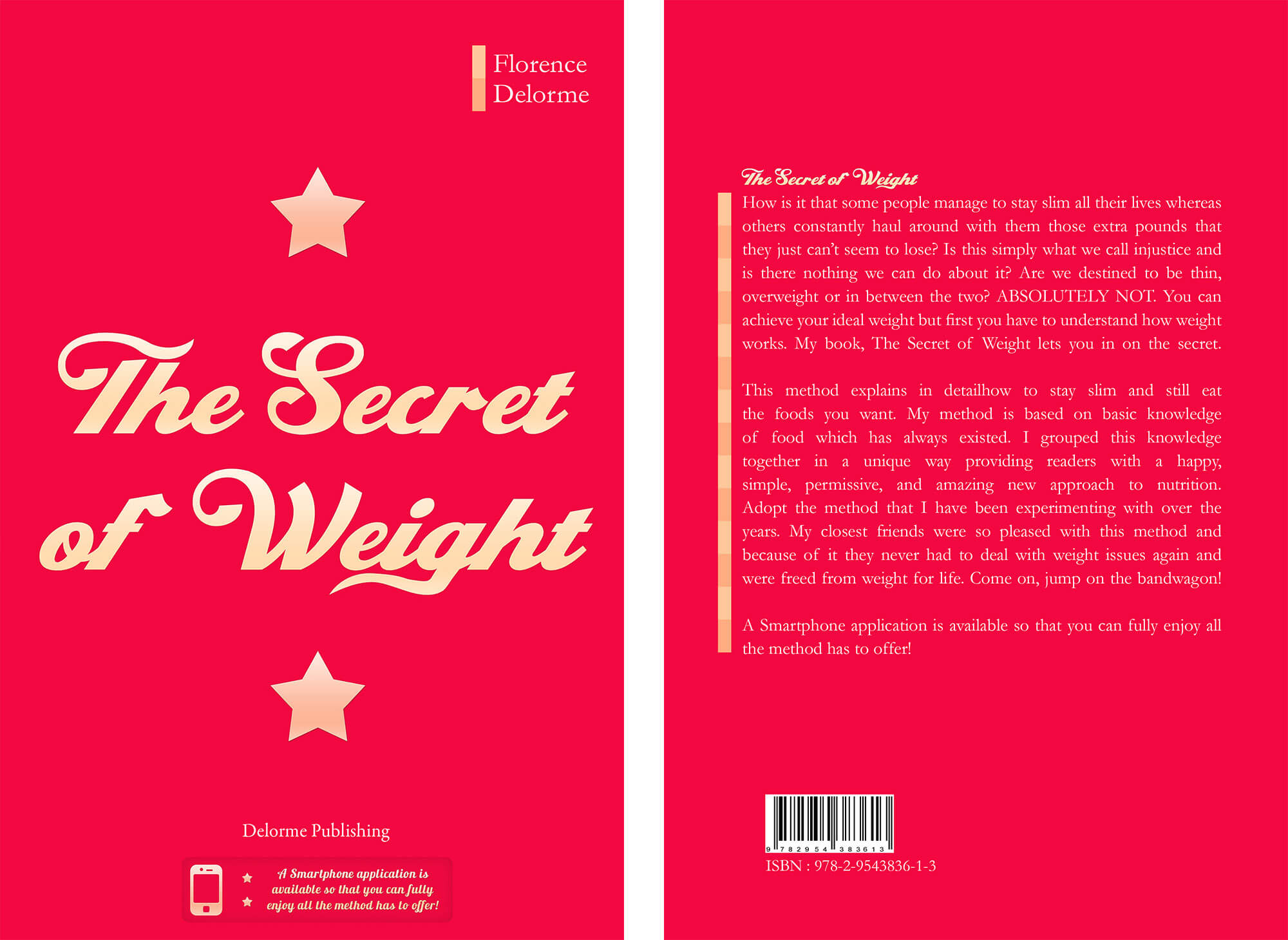 Front and back cover the secret of the weight